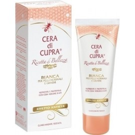 Cera di Cupra Bianca Κρέμα Προσώπου με Κερί Μέλισσας και Γλυκερίνη Ιδανική για Λιπαρές και Κανονικές Επιδερμίδες, 75ml