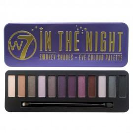 W7 In The Night Palette Eye Shadow σε 12 Αποχρώσεις