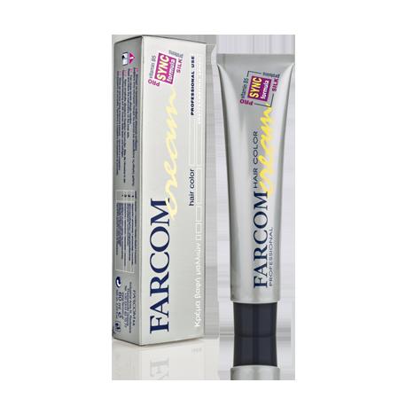 Farcom Hair Color Cream Βαφή Μαλλιών 60ml