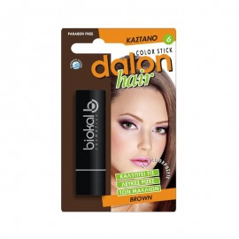 Dalon Color Hair Stick 6 Καστανό 4.5gr