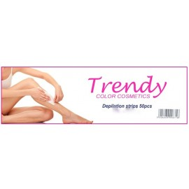 Trendy Color Cosmetics Depilation strips 50pcs