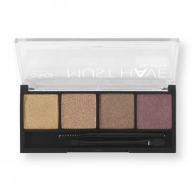 GRIGI MAKE-UP MUST HAVE PALETTE 03 METALLIC HIGH SHINE EYESHADOW