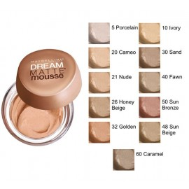 Maybelline Dream Matte Mousse Foundation Make Up