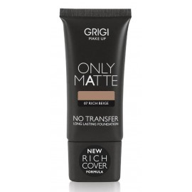 Grigi Make-up Only Matte New Rich Cover Formula Foundation 30ml