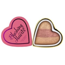 Makeup Revolution I Heart Makeup Blushing Hearts Peachy Keen Heart Blusher