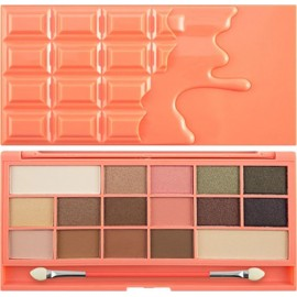 I Heart Makeup I Heart Chocolate - Chocolate and Peaches (by Makeup Revolution)