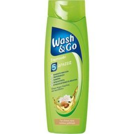 Wash & Go Ταλαιπωρημένα Μαλλιά Βούτυρο Καριτέ 400ml