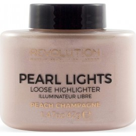 Makeup Revolution Revolution Pearl Lights Loose Highlighter Peach Champagne 42gr