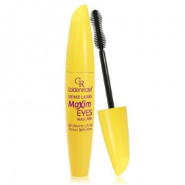 Golden Rose Defined Lashes Maxim Eyes Mascara Black