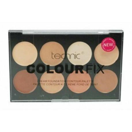 Technic Colour fix Cream Foundation & Contour Palette