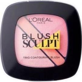 L'Oreal Infallible Blush Sculpt Trio Contouring 201 Soft Rosy