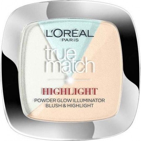 L'Oreal True Match 2 in 1 Powder Glow Illuminator 302R/302C 9gr