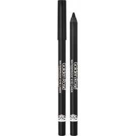 Golden Rose Waterproof Eyeliner Longwear & Soft Ultra Black