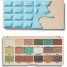 Makeup Revolution I Heart Revolution Macaroons Chocolate Palette