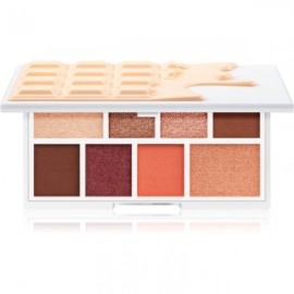 Makeup Revolution I Heart Revolution MINI Eyeshadow Palette, Nudes Chocolate Mini