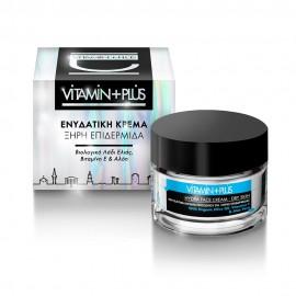 Vitamin+Plus  Ενυδατική Κρέμα Προσώπου για Ξηρές Επιδερμίδες  (50ml)