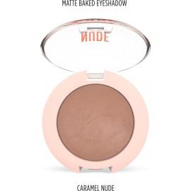 Golden Rose Nude Look Matte Baked Eyeshadow Caramel Nude