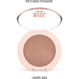 Golden Rose Nude Look Matte Baked Eyeshadow Caramel Nude
