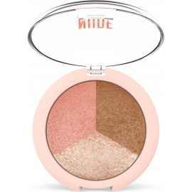 Golden Rose Nude Look Baked Trio Face Powder 19.5gr