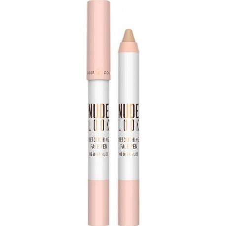 Golden Rose Nude Look Retouching Face Pen 02 Deep Nude 4gr