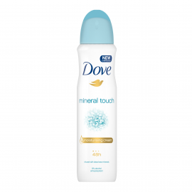 DOVE mineral touch moisturising cream 48h  spray 150ml