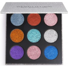 Revolution Beauty Pressed Glitter Palette Illusion