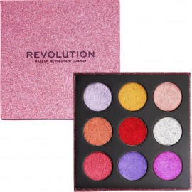 Revolution Beauty Pressed Glitter Palette Diva
