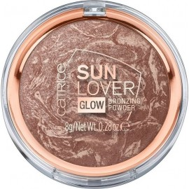 Catrice Cosmetics Sun Lover Glow Bronzing Powder 010 Sun Kissed Bronze
