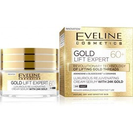 Eveline Cosmetics Gold Lift Expert 60+ 24K Cream Serum Anti-Ageing 50ml