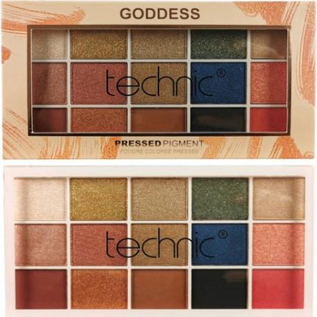 Technic Pressed Pigment Palette Goddess