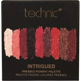 Technic Pressed Pigment Palettes Intrigued