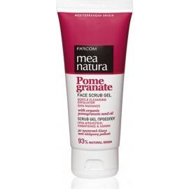 Farcom Mea Natura Face Scrub Gel Pomegranate 100ml