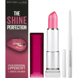 Maybelline The Shine Perfection Geschenkset - 148 Summer Pink - 120 Clear