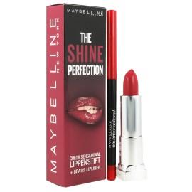 Maybelline Η λάμψη της τελειότητας χρώματος Sensational Lip Makeup Set Κραγιόν 540 + Κραγιόν 80