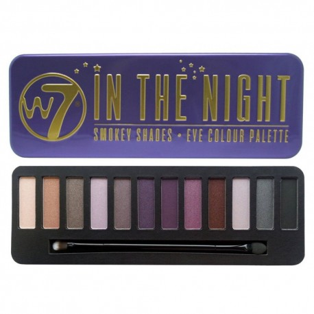 W7 In The Night Palette Eye Shadow σε 12 Αποχρώσεις
