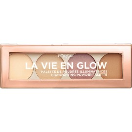 L'Oreal La Vie En Glow Highlighting Palette 01 Warm Glow 5gr