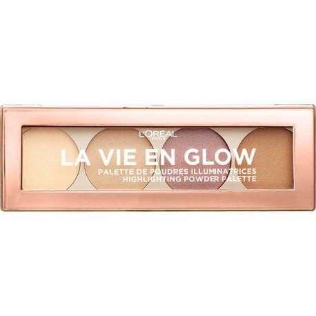 L'Oreal La Vie En Glow Highlighting Palette 01 Warm Glow 5gr