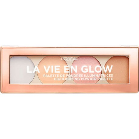 L'Oreal La Vie En Glow Highlighting Palette 02 Cool Glow 5gr