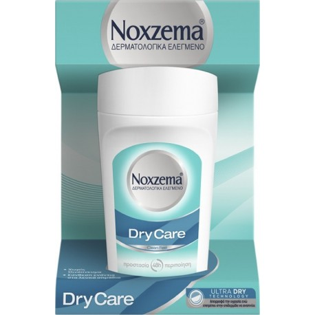 Noxzema Dry Care Clean Feel 48h Προστασία & Περιποίηση Roll-On 50ml