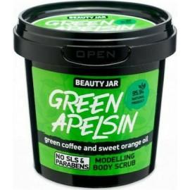 """Beauty Jar """"GREEN APELSIN"""" Scrub σώματος modellage, 200gr"""