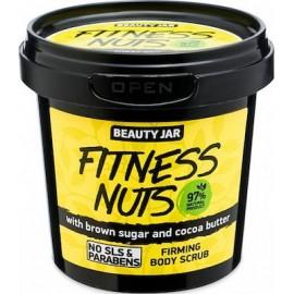 "Beauty Jar ""FITNESS NUTS"" Συσφικτικό scrub σώματος, 200gr"