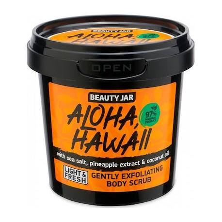 """Beauty Jar """"ALOHA HAWAII"""" Αναζωογονητικό scrub προσώπου και σώματος, 200gr"""