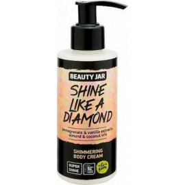 "Beauty Jar ""SHINE LIKE A DIAMOND"" Κρέμα σώματος με shimmer, 150ml"
