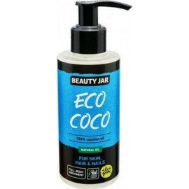 Beauty Jar Eco Coco Natural Oil For Skin, Hair & Nails 150ml