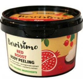"Beauty Jar Berrisimo ""Red Boost"" body polish scrub, 300gr"