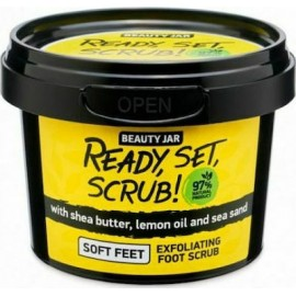 "Beauty Jar ""READY, SET, SCRUB!"" Scrub πόδιων, 135ml"