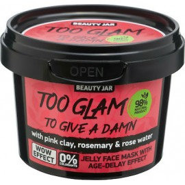 "Beauty Jar ""TOO GLAM TO GIVE A DAMN"" Gel μάσκα αντιγήρανσης, 120gr"