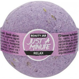"""Beauty Jar """"JUST A MINUTE"""" bath bomb, 150gr"""