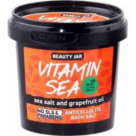 "Beauty Jar ""VITAMIN SEA"" Άλατα μπάνιου κατά της κυτταρίτιδας, 200gr"