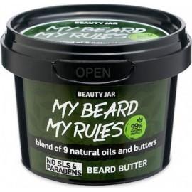 "Beauty Jar MY ""BEARD MY RULES"" Ενυδατικό βούτυρο γενειάδας, 90gr"